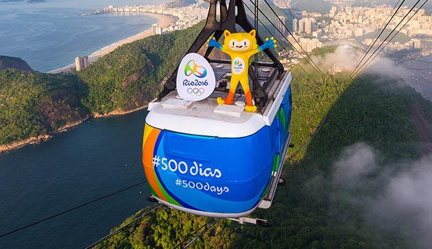 Rio 2016 - 500 jours