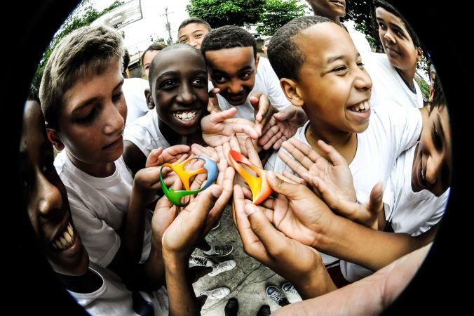 Rio 2016 - écoliers