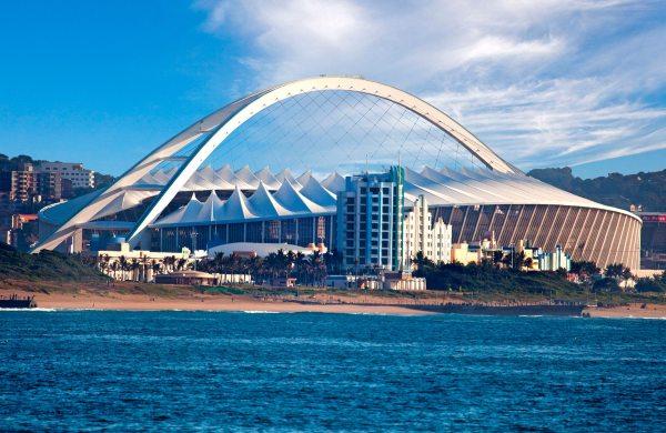 Stade de Durban - vue de la mer