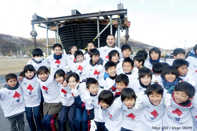 Tokyo 2020 - vasque olympique - Tohoku