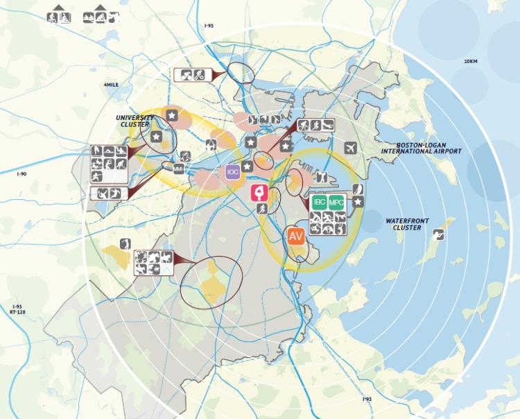 Boston 2024 - carte