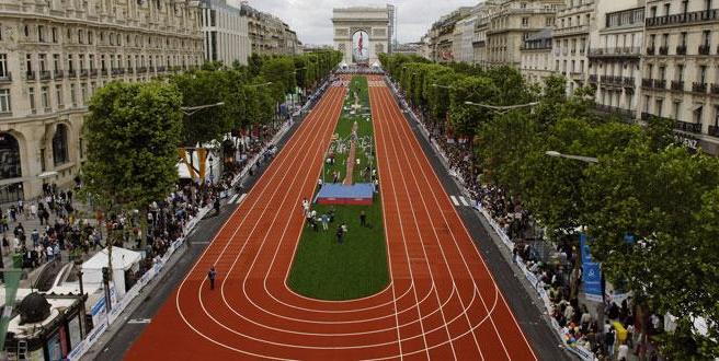 Champs Elysées - juin 2005