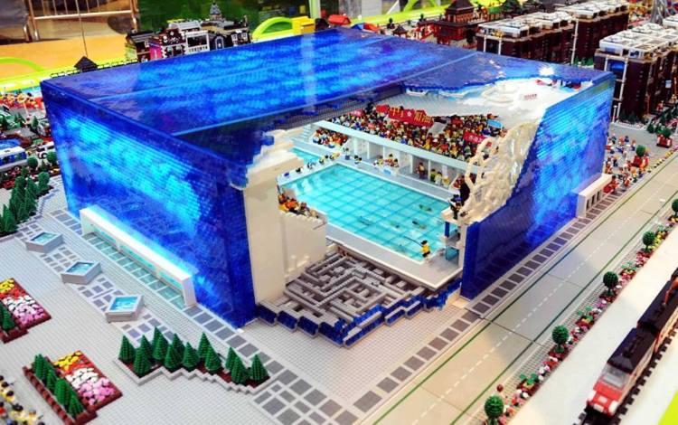 Cube d'eau - LEGO