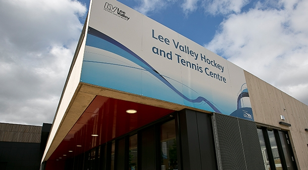 Lee Valley Hockey and Tennis Centre - facade