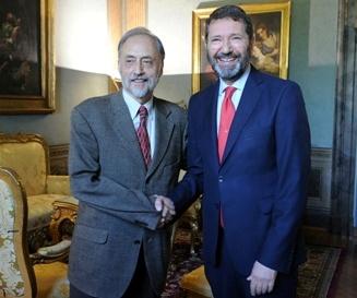 Rome 2024 - Enric Truñó i Lagares et Ignazio Marino