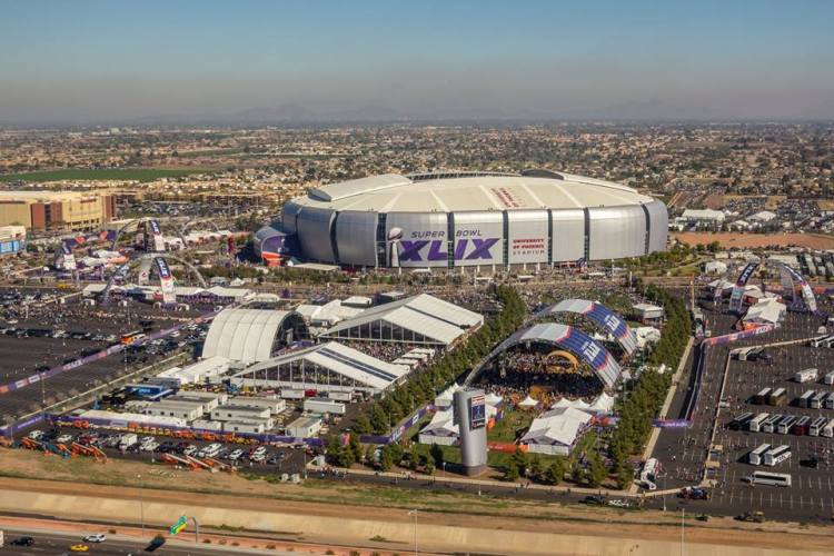 Super Bowl 2015 - vue du stade