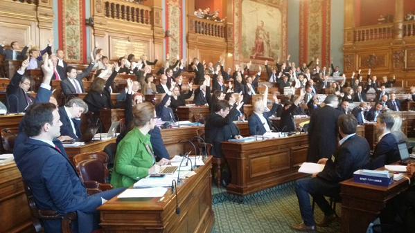 vote Conseil de Paris