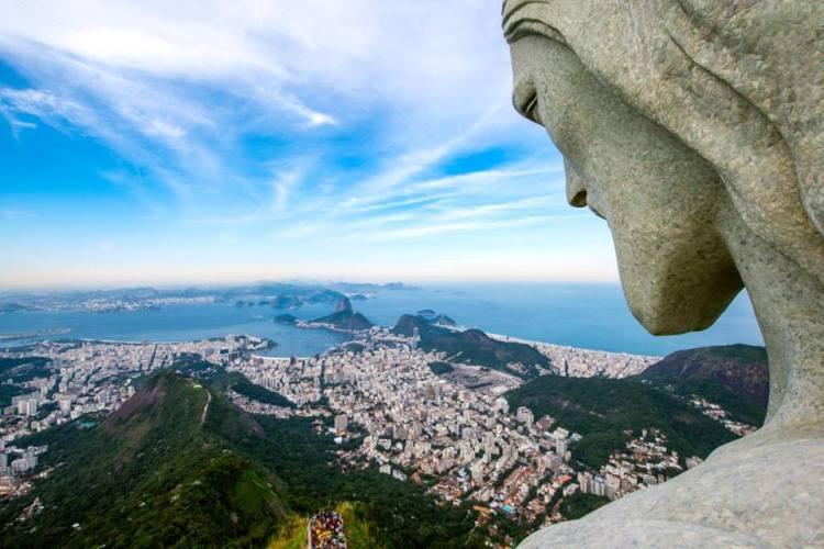 Vue de la baie de Rio de Janeiro