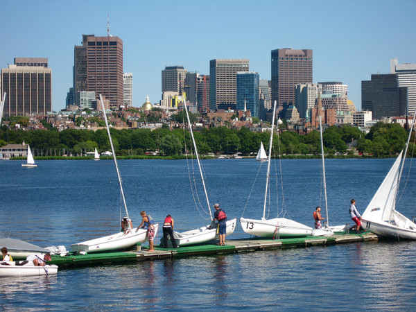 Vue de la baie de Boston (Crédits - Boston 2024)