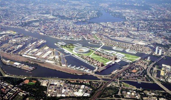 Hambourg 2024 - ile réaménagée