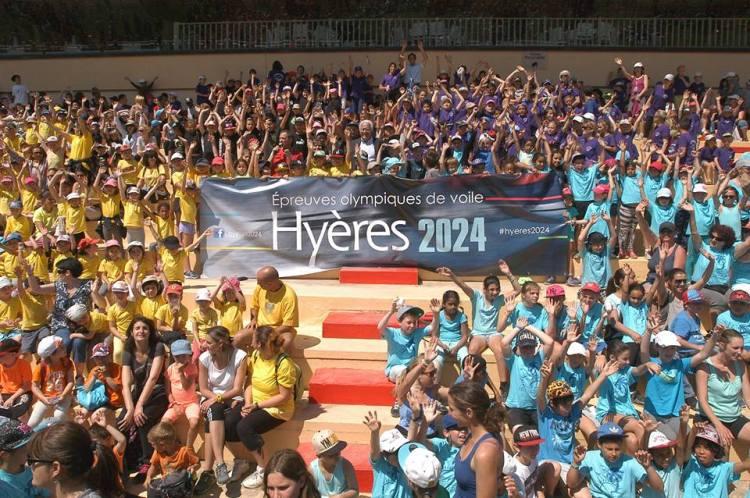 Hyères 2024 - écoliers