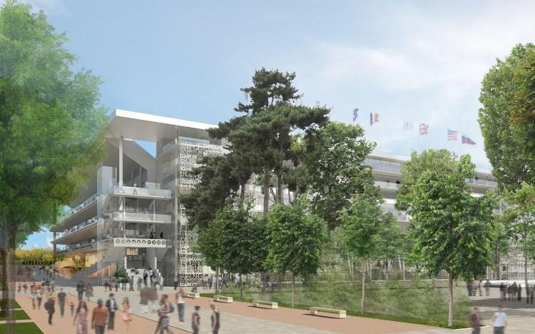 Nouveau Roland Garros - Court Philippe Chatrier