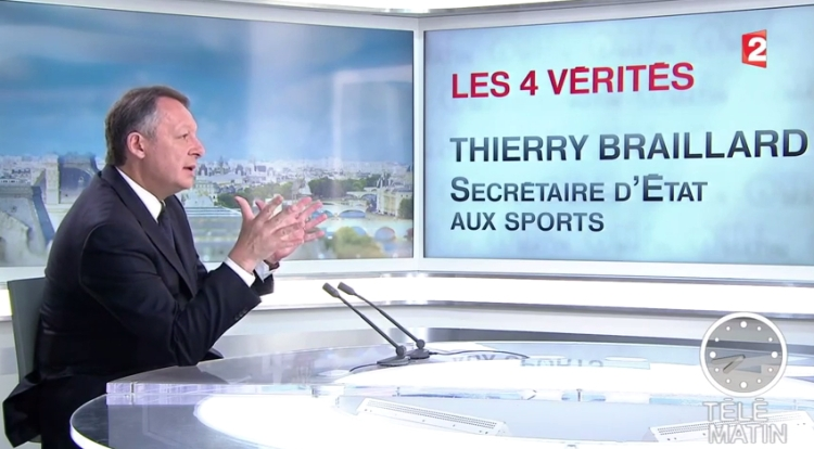 Thierry Braillard - Télé Matin