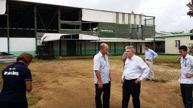 Thomas Bach - Vanuatu - centre multisports
