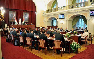 Séance du Conseil Municipal du 23 juin 2015 (Crédits - Istvan Tarlós)