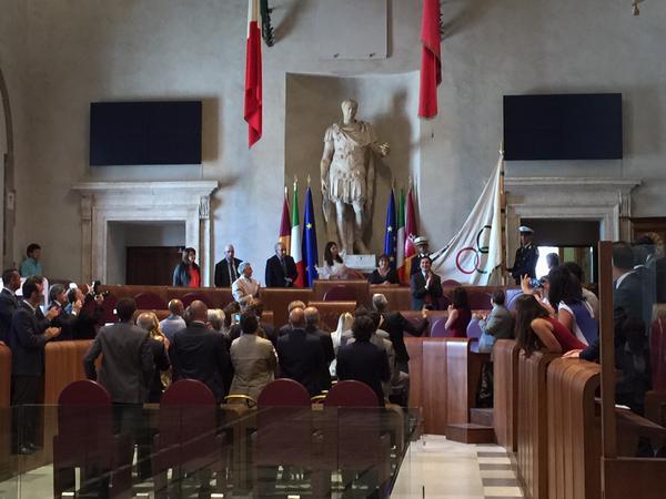 Séance du Conseil Municipal du 25 juin 2015 (Crédits - Ville de Rome)