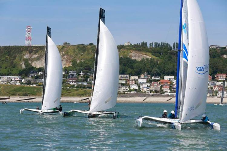(Crédits - Erik Levilly / Normandy Sailing Week / Le Havre 2024)