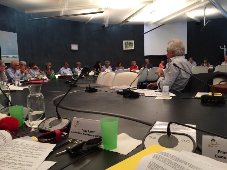 Séance du Conseil Municipal de La Baule (Crédits - Franck Louvrier)