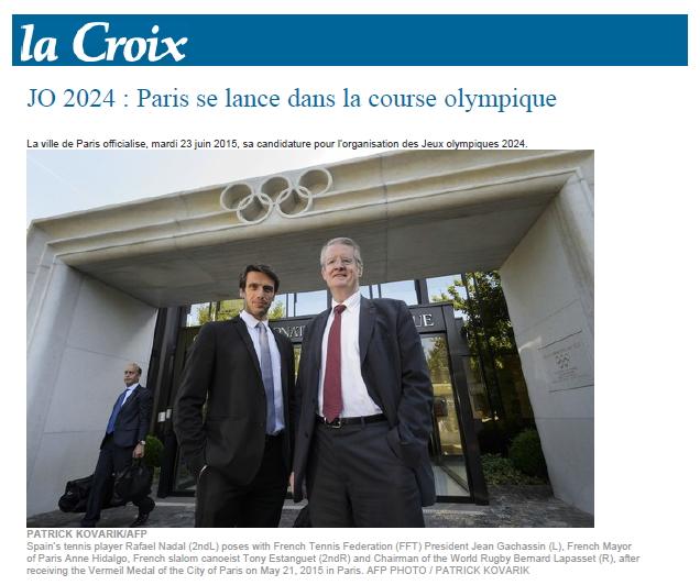 La Croix - 23 juin 2015