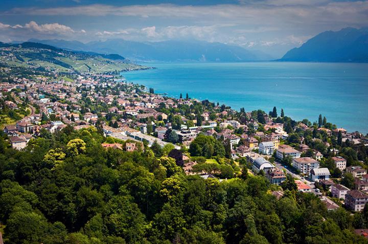 Vue de Lausanne et du Lac Léman (Crédits - Lausanne 2020)