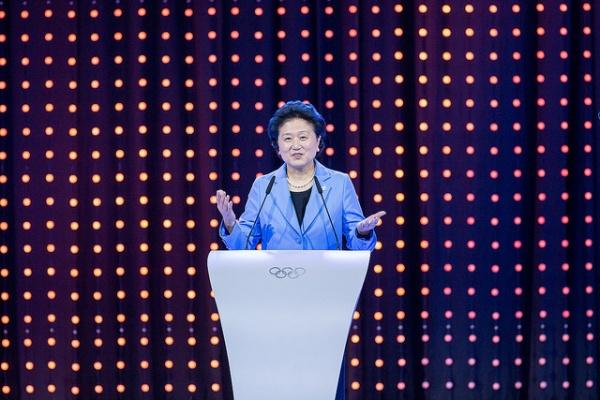 Liu Yandong, vice-Premier Ministre (Crédits - CIO / Ubald Rutar)