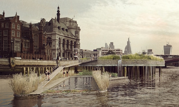 (Crédits - Studio Octopi / Thames Baths Project)
