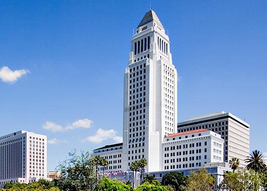 Hôtel de Ville de Los Angeles (Crédits - Ville de Los Angeles)