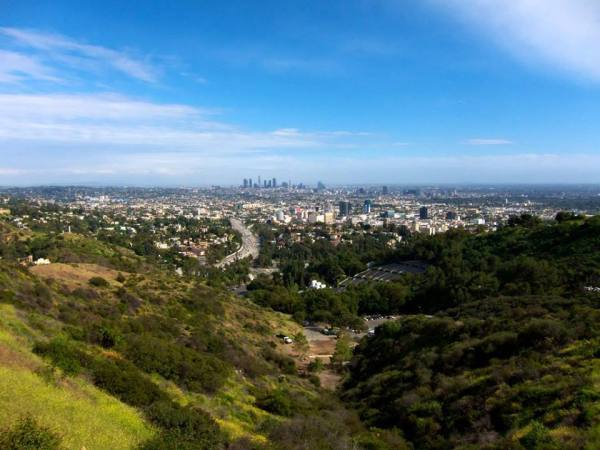 Vue de Los Angeles (Crédits - Page officielle Facebook du Maire de Los Angeles, Eric Garcetti)