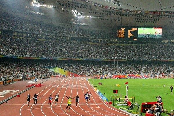 Vue intérieure du Stade de Pékin lors des JO 2008 (Crédits - IAAF / Getty Images)