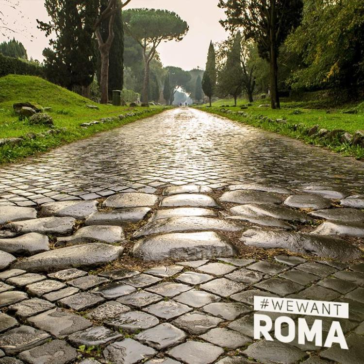 """""""Rome a le don de combiner le passé avec le présent. Vous pouvez voyager dans le monde entier, mais ici seulement, le sport se conjugue avec des paysages à couper le souffle"""" (Crédits - Rome 2024)"""