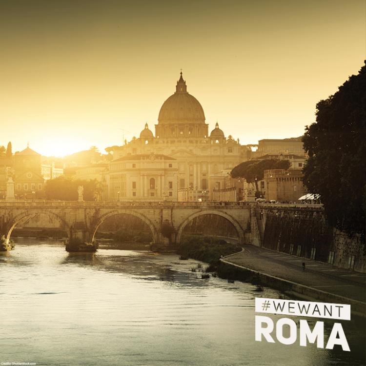 """""""Pendant un mois, les meilleurs athlètes du monde vont célébrer ensemble les valeurs du sport : ce serait unique de réaliser un tel rêve à Rome, dans une atmosphère unique"""" (Crédits - Rome 2024)"""