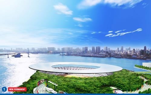 Projet de Stade Olympique pour la candidature de Tokyo 2016