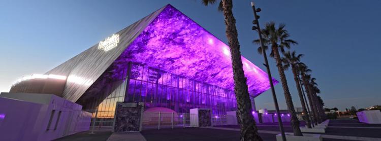 Vue extérieure de la Park&Suites Arena (Crédits - Montpellier Events)
