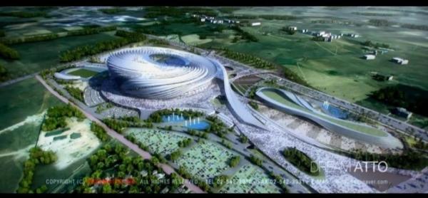 Visuel du projet de Stade Olympique de Casablanca