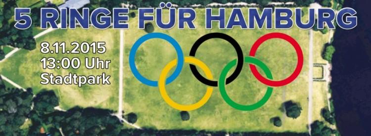 Un immense logo devrait être créer par des milliers de personnes, le 08 novembre prochain (Crédits - Hambourg 2024)