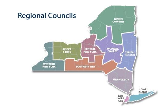 Répartition des Conseils Régionaux pour le Développement Économique (Crédits - Capture d'écran / Sport & Société)