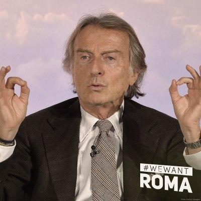 Luca di Montezemolo, ancien Président de Ferrari, désormais Président du Comité de Candidature (Crédits - Rome 2024)