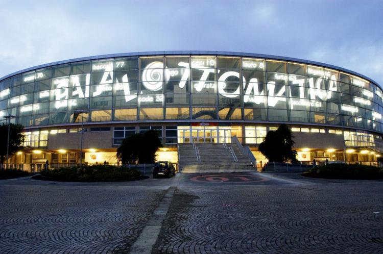 Façade du Palais des Sports (Crédits - EUR Spa)