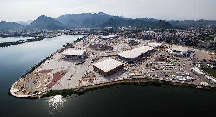 Vue du Parc Olympique de Barra da Tijuca, principal centre des compétitions (Crédits - Prefeitura do Rio / Renato Sette Camara)