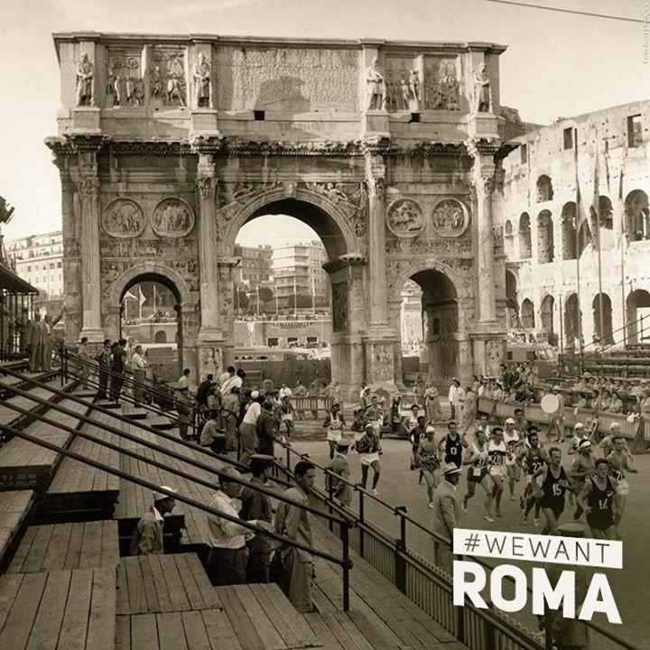 Les JO de 1960 avaient déjà la part belle au riche patrimoine architectural de la capitale italienne (Crédits - Rome 2024)