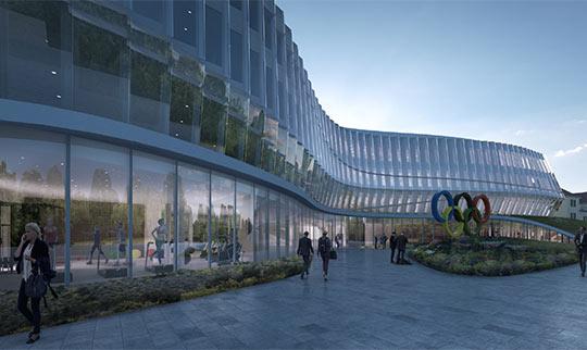 La ville de lausanne valide la construction de la maison olympique futur si ge du cio sport for Piscine lausanne