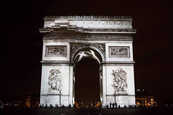 Arc de triomphe logo paris 2024 sport soci t - Piscine jean boiteux paris ...