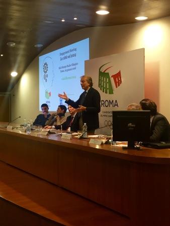 Luca di Montezemolo, Président du Comité de Candidature (Crédits - Roma 2024)
