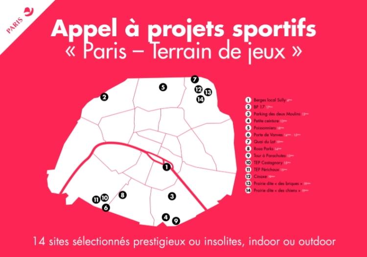 Paris - Terrain de jeux