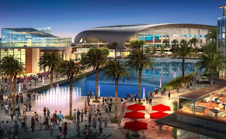 Visuel du futur complexe des Rams à Inglewood (Crédits - NFL / Rams)