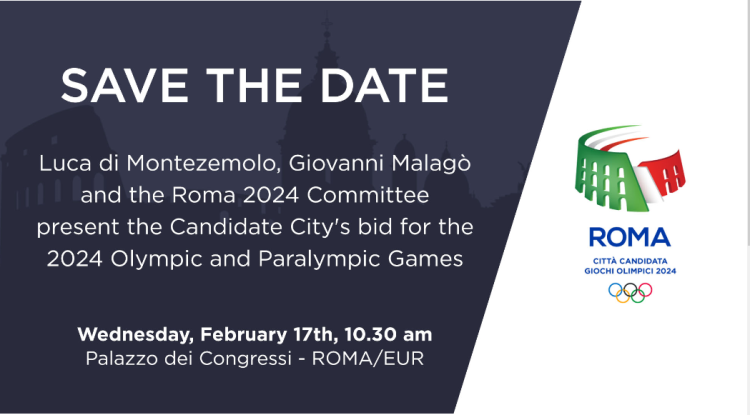 Rome 2024 - date