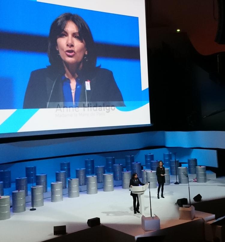 Anne Hidalgo, Maire de Paris (Crédits - Sport & Société)