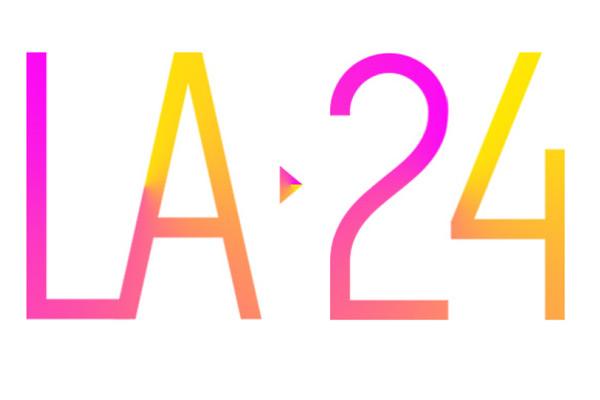 Logo actuel de la candidature américaine (Crédits - LA 2024)