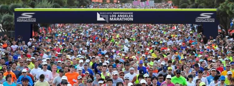 (Crédits - Page Facebook du Marathon de Los Angeles)