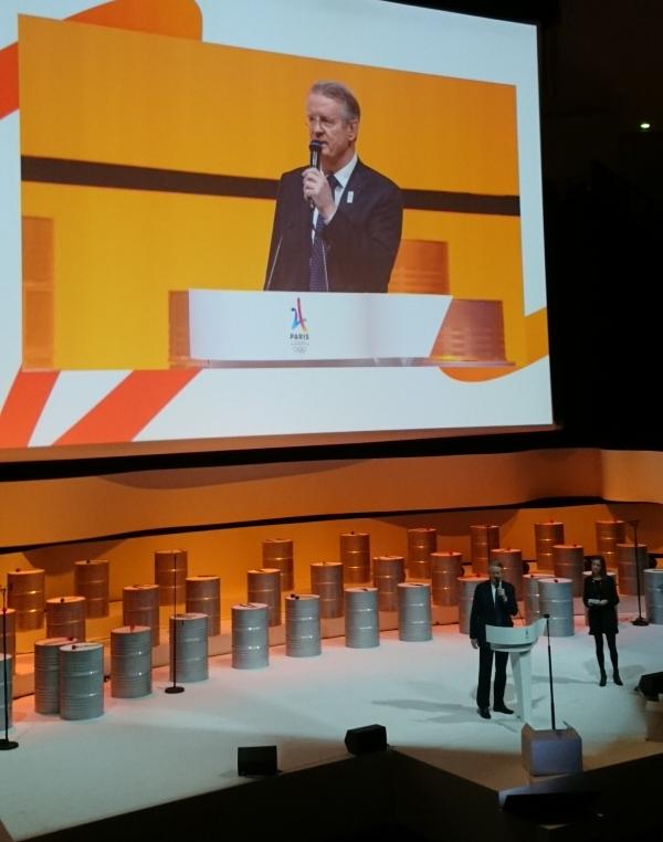 Bernard Lapasset, coprésident de Paris 2024 (Crédits - Sport & Société)